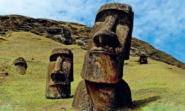 Desenterraron Las Ancestrales Cabezas De La Isla De Pascua