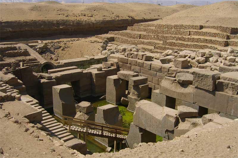 Desvelan el secreto de los egipcios para trasladar los bloques de piedra de las pirámides 22-4