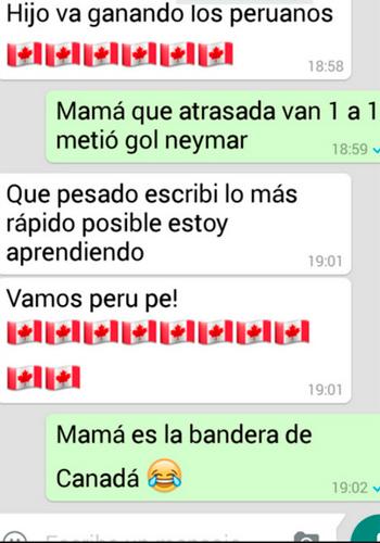 Mensajes d madres en WhatsApp con los que no pararás de reír